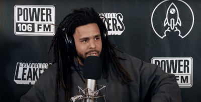 "Watch J. Cole freestyle over ""93 Til Infinity"" and ""Still Tippin"""