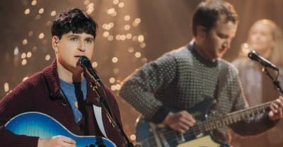 "Watch Vampire Weekend perform ""Christmas Time Is Here"" with a children's choir"