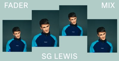 Listen to a new FADER Mix by SG Lewis