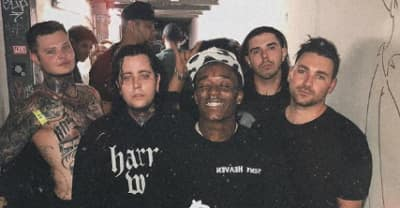 Lil Uzi Vert had the time of his life moshing at the metal show