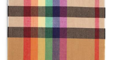 Burberry champions LGBTQ charities with new rainbow tartan