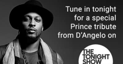 D'Angelo Will Be Paying Tribute To Prince On The Tonight Show