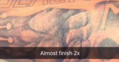 Lil Durk Got A Black Lives Matter Tattoo