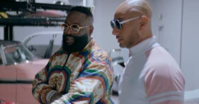 "Rick Ross shares ""BIG TYME"" video featuring Swizz Beatz"