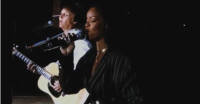 "Watch Rihanna Perform ""FourFiveSeconds"" With Paul McCartney At Desert Trip"