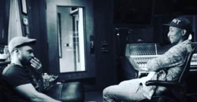 Pharrell Is Working On Justin Timberlake's New Album