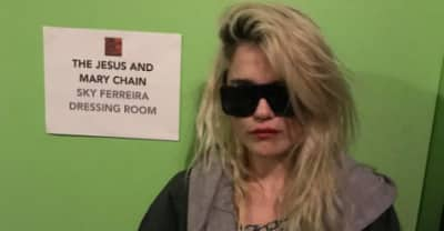 "Watch Sky Ferreira Perform ""The Two Of Us"" With The Jesus & Mary Chain"