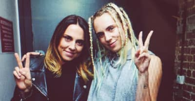 MØ Joined At London Show By Mel C From The Spice Girls