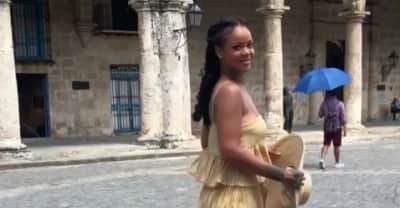 Rihanna skipped the VMAs and is having a better time than everyone who's there