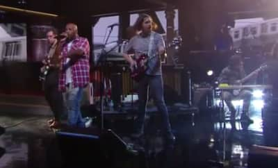 Bun B Joins Parquet Courts For The Late Show Performance
