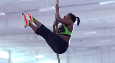 "New Simone Biles Nike Commercial Features Beyoncé's ""Jealous"""