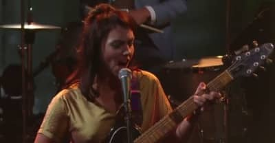 Watch Angel Olsen Perform On The Late Show With Stephen Colbert