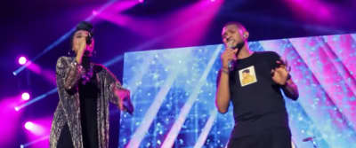 "Watch Yuna And Usher Perform ""Crush"" At Roots Picnic"