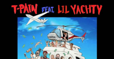 "T-Pain Recruits Lil Yachty For ""Dan Bilzerian"""