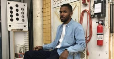 It seems like Frank Ocean has finished another album
