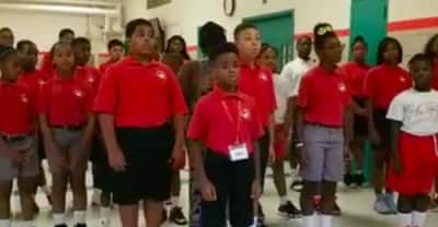 "How a Baltimore school choir's earnest rendition of ""Rise Up"" broke the internet"