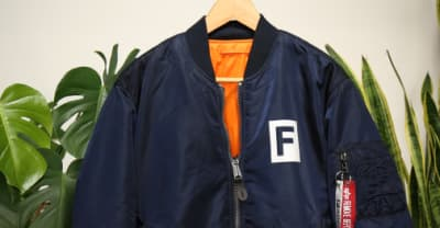 Shop the FADER and Alpha Industries's limited-edition bomber jacket