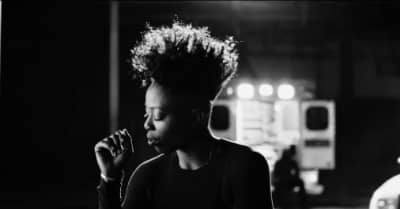 """Tish Hyman Maintains A Positive Perspective In The Dark Video For """"All That I Can Do"""""""