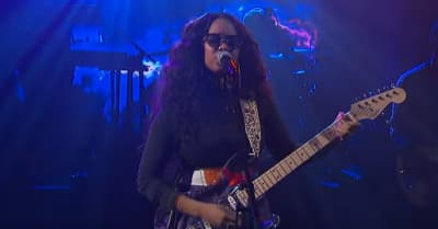 "Watch H.E.R. perform ""Hard Place"" on The Late Show"