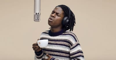 Daniel Caesar will melt your heart while holding a coffee cup