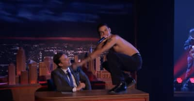 Watch slowthai and Mura Masa cause chaos on Fallon