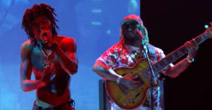 """Watch J.I.D perform """"Skrawberries"""" with Thundercat and BJ The Chicago Kid"""