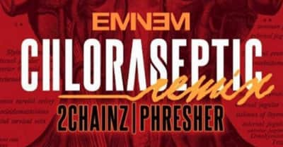 "Eminem addresses critics on ""Chloraseptic (Remix)"" featuring 2 Chainz and Phresher"