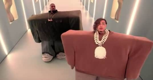 Watch Kanye West And Lil Pumps I Love It Video  The Fader