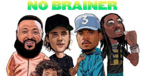 "Watch the video for ""No Brainer"" from DJ Khaled, Justin Bieber, Quavo, and Chance The Rapper"
