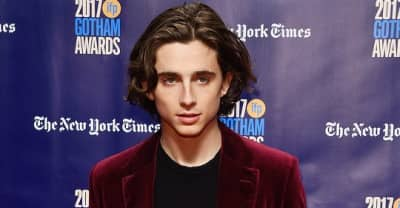 Timothee Chalamet from Call Me By Your Name thanked Cardi B after winning a breakthrough actor award