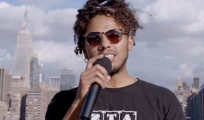 Watch Joey Purp's Rooftop Freestyle For Beats 1