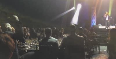 "Watch LeBron James Go Crazy While Kendrick Lamar Performs ""Levitate"""