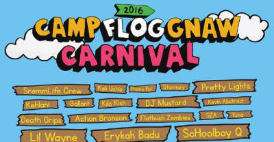 Lil Wayne, A$AP Rocky, Chance The Rapper, And More Will Play Camp Flog Gnaw 2016