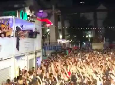 Watch Jazz Cartier Stage Dive Off Of A Roof