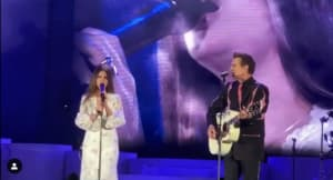 "Watch Lana Del Rey perform ""Wicked Game"" with Chris Isaak"
