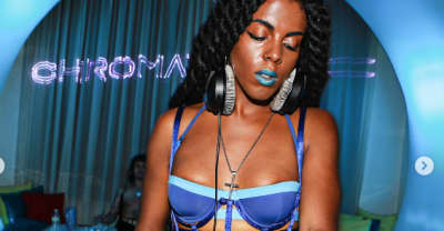 Juliana Huxtable Inspired MAC X Chromat's Brilliant Blue Lipstick