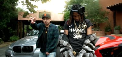 """Nef The Pharaoh Is Living The High Life In His """"Everything Big"""" Video"""