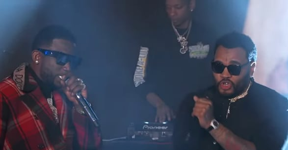 "Watch Gucci Mane perform ""I'm Not Goin'"" on Kimmel 