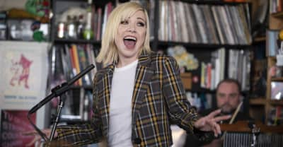Watch Carly Rae Jepsen bring Dedicated to NPR's Tiny Desk