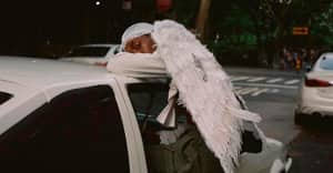 Kai The Black Angel is the model on the cover of Blood Orange's Negro Swan