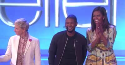"Usher Brings ""Crash"" To Ellen"