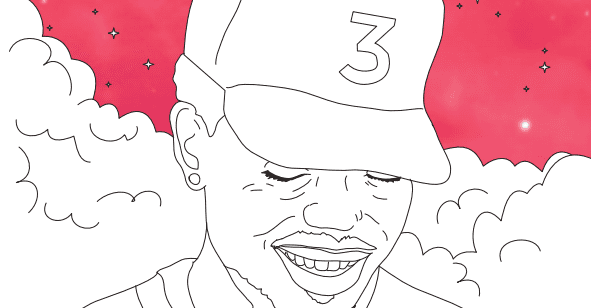 Chance The Rapper S Coloring Book Lyrics Are Now In A Real And Free Coloring Book The Fader
