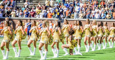 Georgia Tech dancer Raianna Brown discusses her viral football protest