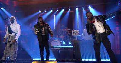 "Watch GoldLink perform ""Crew"" on The Tonight Show"