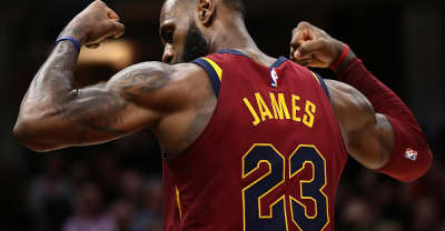 LeBron James becomes the youngest basketball player to hit 29,000 career points.