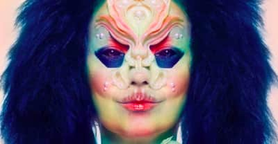 Björk premieres music from her upcoming album in her new mix