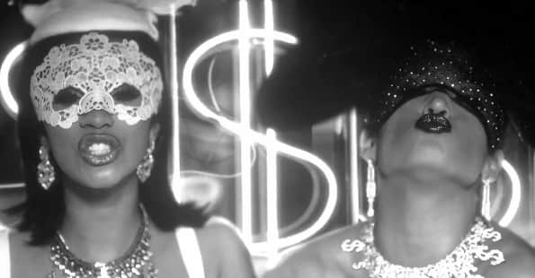 "Watch Jennifer Lopez and Cardi B live it up in the ""Dinero"" video"