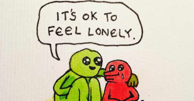 Bjenny Montero's Cartoons Are Depressed, Loving, And Hopeful, Just Like You