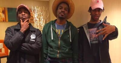 """Divine Council And André Benjamin Explain How They Linked Up For The Remix Of """"Decemba"""""""