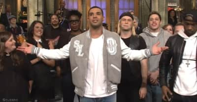 Drake Wore A Very Special Roots x OVO Jacket On SNL